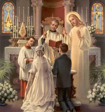 PERNIKAHAN CAMPUR  BEDA  AGAMA (dalam pandangan Katolik)