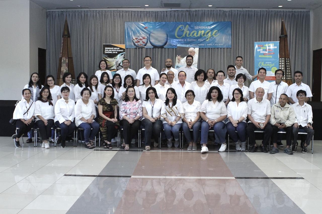 Seminar Change - (Ada 14 foto)